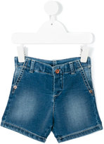 Babe And Tess - denim shorts - kids - Cotton/Polyester/Spandex/Elastane - 6 mth