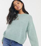 New Look Petite jumper in green