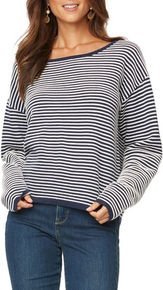 NYDJ Stripe Cotton Pullover