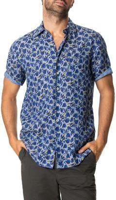 Rodd & Gunn Rockwood Short Sleeve Linen Button-Up Shirt
