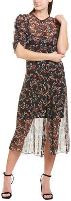 Allen Schwartz Gracie Midi Dress