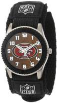 "Game Time Unisex NFL-ROB-SF ""Rookie Black"" Watch -"