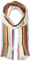 Tory Burch Soul Stripe Silk Oblong Scarves
