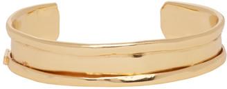Emanuele Bicocchi Gold Open Cuff Bracelet