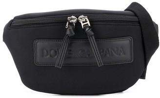 Dolce & Gabbana Kids Logo Patch Belt Bag