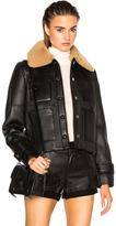Acne Studios Felipa Jacket in Black.