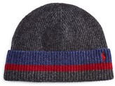 Polo Ralph Lauren Knitted Stripe Hat