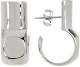 Botkier Cut C-Drop Hoop Earrings