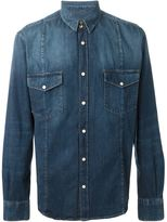 Golden Goose Deluxe Brand 'Duke' denim shirt - men - Cotton - M