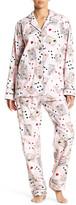 PJ Salvage Pinup Card Pajama Set