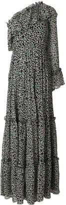 MSGM ruffled maxi dress