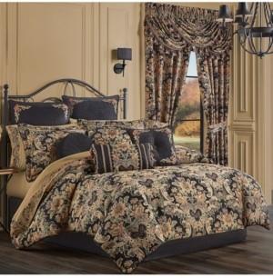 J Queen New York Toscano Queen 4 Piece Comforter Set Bedding