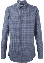 Dolce & Gabbana micro print shirt - men - Cotton - 39
