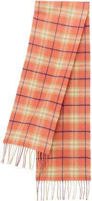 BURBERRY KIDS The Mini Classic Vintage Check Cashmere Scarf