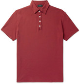 Incotex - Slim-fit Cotton-piqué Polo Shirt