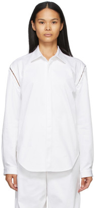 Dion Lee White Detach Hook Shirt