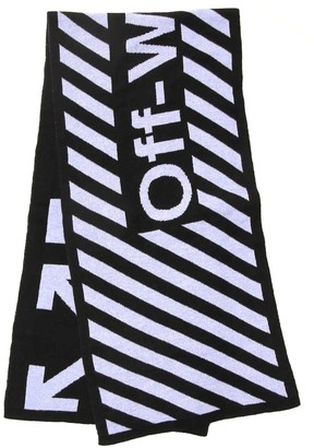 Off-White Arrows Logo Scarf