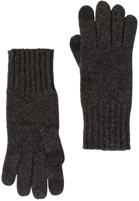 Amicale Cashmere Touch Screen Knit Glove