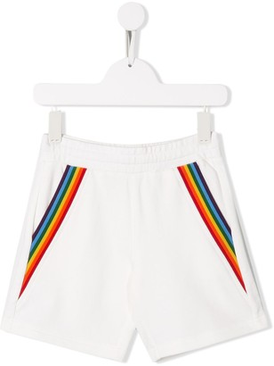 Moncler Enfant Rainbow Trim Shorts