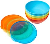 NUK Bunch-A-Bowls With Lids - Multicolor - 4 ct