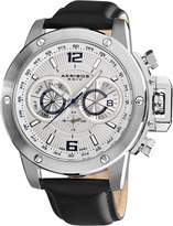 Akribos XXIV Men's AKR469WT Conqueror Multi-Function Stainless Steel Swiss Quartz Strap Watch