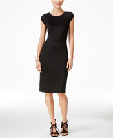 ECI Scuba Sheath Dress