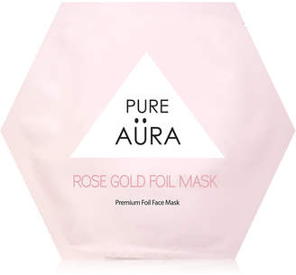 Pure Aura Rose Gold Foil Mask