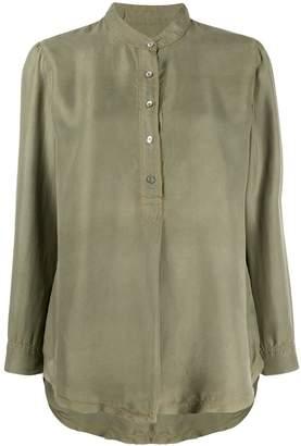 Raquel Allegra cargo twill blouse