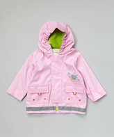 Kushies Pink Raincoat - Infant