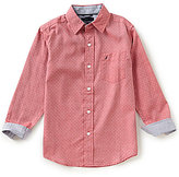 Nautica Big Boys 8-20 Button-Front Long-Sleeve Woven Shirt