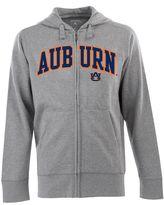 Antigua Men's Auburn Tigers Signature Zip Front Fleece Hoodie
