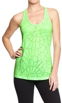 Old Navy Women's Active Knotted Racerback Tanks
