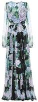 Dolce & Gabbana Floral-printed silk gown