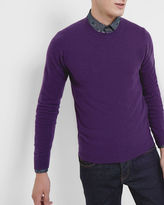 COHEN Cashmere crew neck sweater