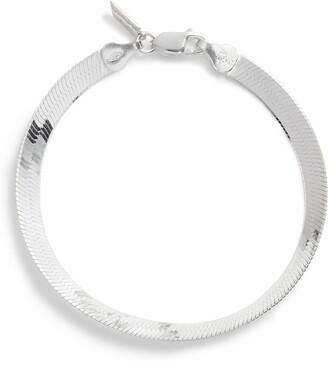 Loren Stewart Herringbone Chain Bracelet