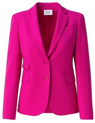 Akris Punto Pebble Crepe Stretch Blazer