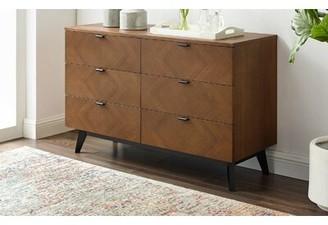 Corrigan Studioâ® Antonelli 6 Drawer Double Dresser Corrigan StudioA