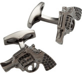 Simon Carter Crystal Pistol Cullinks