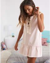 aerie Lace-Up Dress