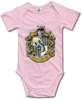 Leff Bodysuit Harry Potter Hufflepuff Baby Unisex Short Sleeve Bodysuit Romper Jumpsuit Outfits