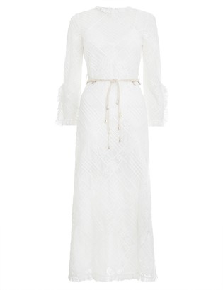 Zimmermann Freja Diamond Pintuck Dress