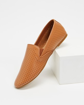 Spurr Women's Brown Loafers - Stellar Flats - Size 6 at The Iconic