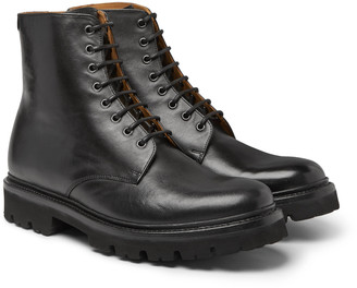 Grenson Hadley Leather Boots