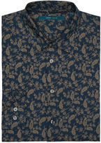Perry Ellis Exclusive Paisley Leaf Print Shirt