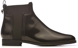 Tod's Tods Tods Smooth Leather Ankle Boots