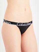 Calvin Klein ID stretch-cotton tanga briefs