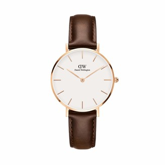 Daniel Wellington Petite Bristol Rose Gold Watch 32mm Leather for Men and Women