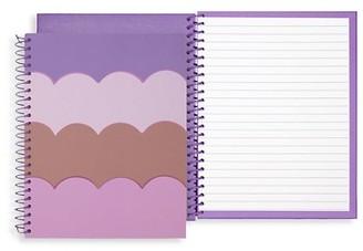 Kate Spade Small Scallop Spiral Notebook
