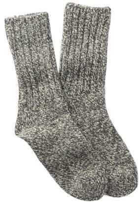 Woolrich Solid Ragg Crew Socks