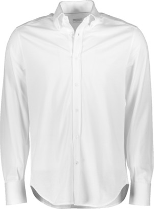 Brunello Cucinelli Button Down Jersey Shirt